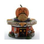 Dept 56 Retching Pumpkin Diner from Santa Claus Christmas Store
