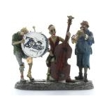 Dept 56 Zombies Band from Santa Claus Christmas Store