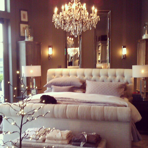 How to get the great gatsby style glamour for your own for House interior design romantic bedroom