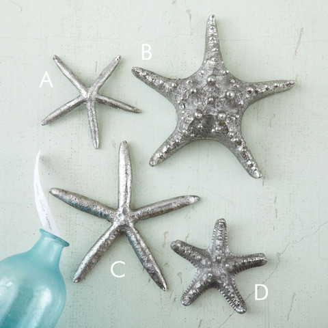 Metal Starfish Burke Decor
