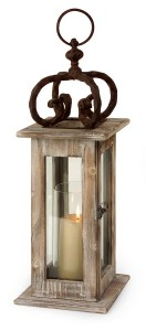 Wood Lantern from Home Element
