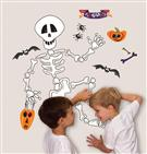 Skeleton Wall Decals from IVG Stores