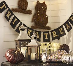 Trick or Treat Banner Pottery Barn